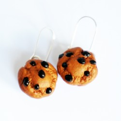 Handmade Earrings Muffins