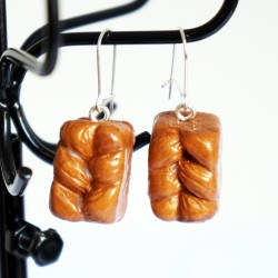 Handmade Earrings Brioches