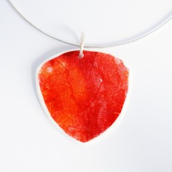 Large triangular red/orange...