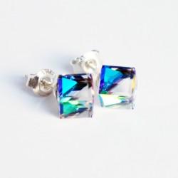Swarovski crystal cube...