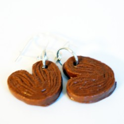 Palmito cookie earrings