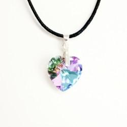 copy of Yellow Swarovski crystal heart pendant