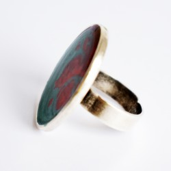 copy of Blue and orange swirl costume ring