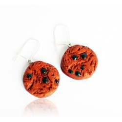 Tasty cookie earrings