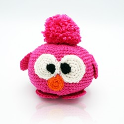 copy of Grey and beige crocheted owl