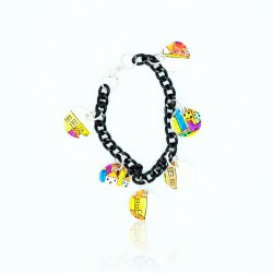 Bracelet maisons multicolores